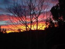 Salida del sol de Colorado Fotografía de archivo libre de regalías