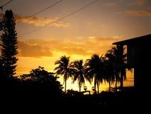 Salida del sol de Cuba Fotografía de archivo libre de regalías