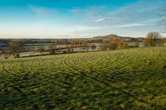 Salida del sol de Dartmoor del invierno Imágenes de archivo libres de regalías
