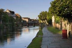 Salida del sol de Estrasburgo Foto de archivo libre de regalías