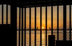 Salida del sol de la Florida Foto de archivo libre de regalías