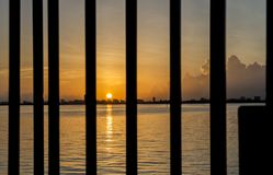 Salida del sol de la Florida Fotos de archivo