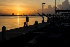 Salida del sol de la Florida Fotografía de archivo
