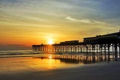Salida del sol de la Florida Imagenes de archivo