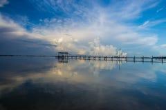 Salida del sol de la Florida Foto de archivo