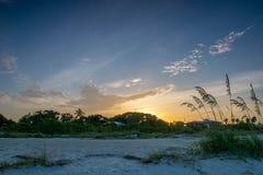 Salida del sol de la Florida Imagen de archivo