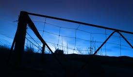Salida del sol de la granja Fotos de archivo