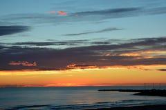Salida del sol de la mañana Fotografía de archivo libre de regalías