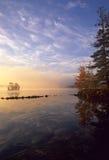 Salida del sol de la madrugada fotografía de archivo libre de regalías