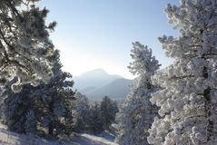 Salida del sol 3 de la montaña Foto de archivo libre de regalías
