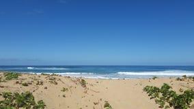 Salida del sol de la playa Foto de archivo libre de regalías