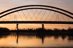 Salida del sol de Minnesota Fotografía de archivo
