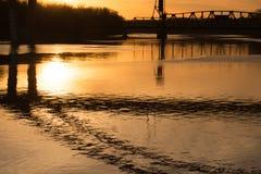 Salida del sol de Minnesota Foto de archivo