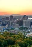 Salida del sol de Montreal fotos de archivo libres de regalías