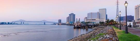 Salida del sol de New Orleans Fotos de archivo libres de regalías