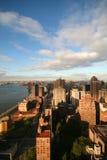 Salida del sol de Nueva York Foto de archivo