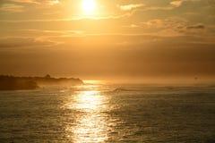 Salida del sol de Pedasi Fotografía de archivo libre de regalías