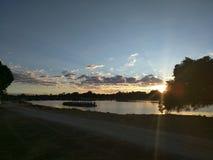 Salida del sol de Perth Imagenes de archivo