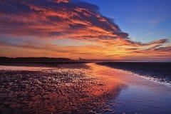 Salida del sol de Scoltland Foto de archivo libre de regalías