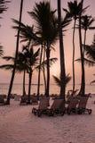 Salida del sol del Caribe Fotos de archivo libres de regalías