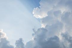 Salida del sol del cielo fantástica Fotos de archivo
