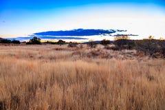 Salida del sol del Karoo Imagen de archivo libre de regalías