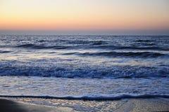 Salida del sol del océano Fotos de archivo libres de regalías