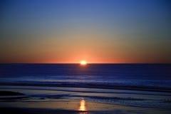 Salida del sol del océano Fotos de archivo