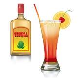 Salida del sol del Tequila Imagen de archivo