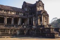 Salida del sol en Angkor Wat, Siem Reap Camboya Foto de archivo