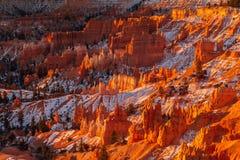 Salida del sol en Bryce Canyon, Utah Imagenes de archivo