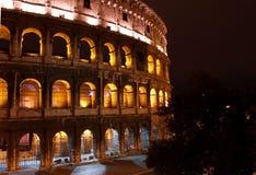 Salida del sol en Colosseum Fotos de archivo