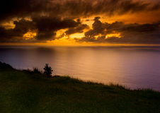 Salida del sol en el Océano Pacífico 3 Imágenes de archivo libres de regalías