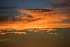 Salida del sol en el parque de Haleakala. Foto de archivo libre de regalías