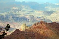 Salida del sol en Gran Cañón Foto de archivo libre de regalías
