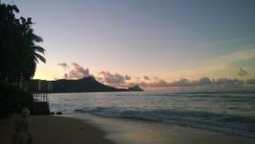 Salida del sol en Hawaii Fotos de archivo