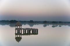 Salida del sol en Jaisalmer Fotos de archivo libres de regalías