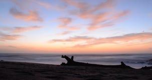 Salida del sol en Karridene Imagen de archivo libre de regalías