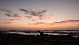Salida del sol en Karridene Imagenes de archivo