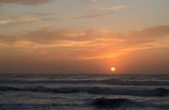 Salida del sol en Karridene Foto de archivo libre de regalías