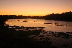 Salida del sol en la Argentina Fotografía de archivo