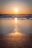 Salida del sol en la Florida Imagenes de archivo