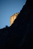 Salida del sol en las cataratas de Yosemite Fotografía de archivo
