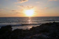 Salida del sol en México Foto de archivo libre de regalías