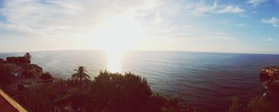 Salida del sol en Majorca Foto de archivo libre de regalías