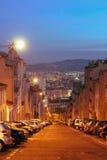 Salida del sol en Marsella, Francia Imágenes de archivo libres de regalías