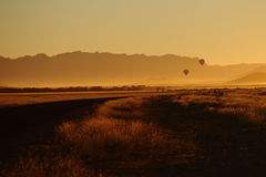 Salida del sol en namb-naukluft Imagen de archivo libre de regalías