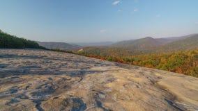 Salida del sol en Stone Mountain Fotos de archivo libres de regalías