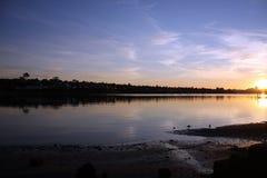 Salida del sol en Sydney Imagen de archivo