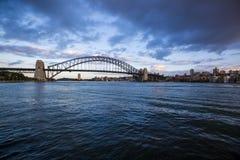 Salida del sol en Sydney, Australia imágenes de archivo libres de regalías